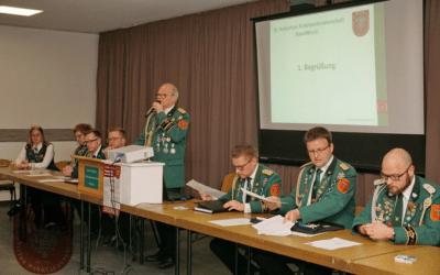 Jahreshauptversammlung am 4. Januar 2020