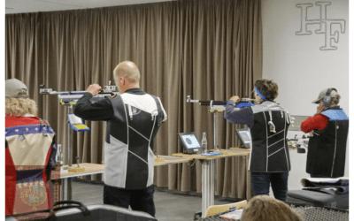 Finale des Bezirksturnier 2019 der Sportschützen in Kaunitz